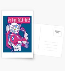 Arcee - We Can Roll OUT! Postcards