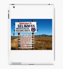 welcome to seligman iPad Case/Skin
