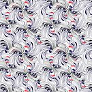 Abstract graphic seamless pattern  by Tanor
