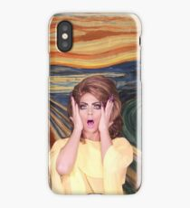 Rupaul's Drag Race - Alyssa Edwards - The Scream iPhone Case
