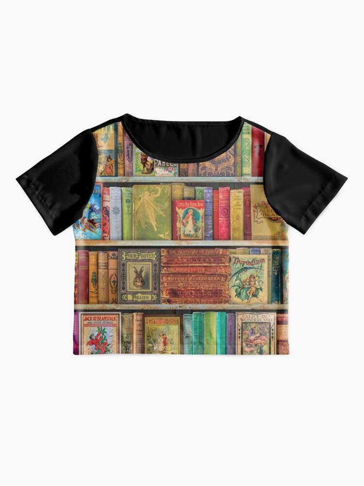 Alternate view of A Daydreamer's Book Shelf Chiffon Top