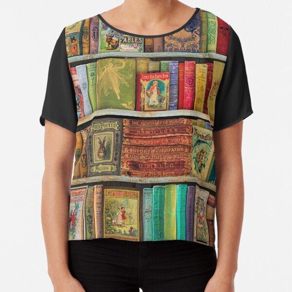 A Daydreamer's Book Shelf Chiffon Top