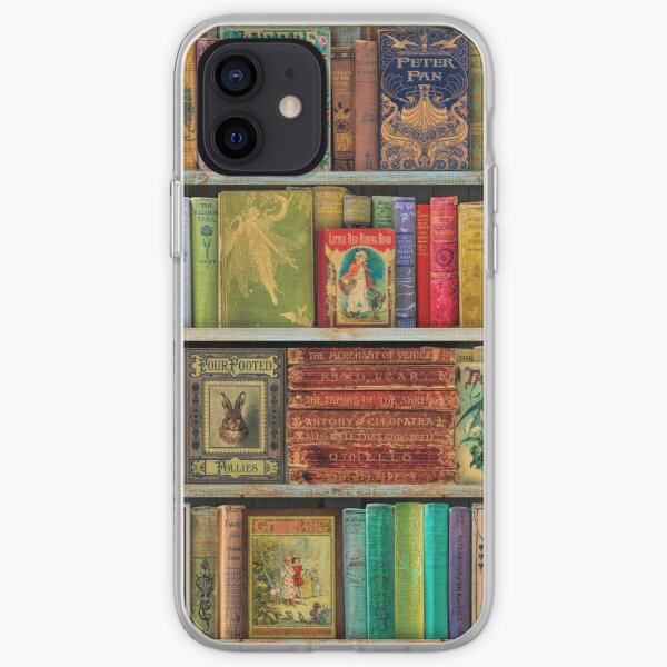 A Daydreamer's Book Shelf iPhone Soft Case