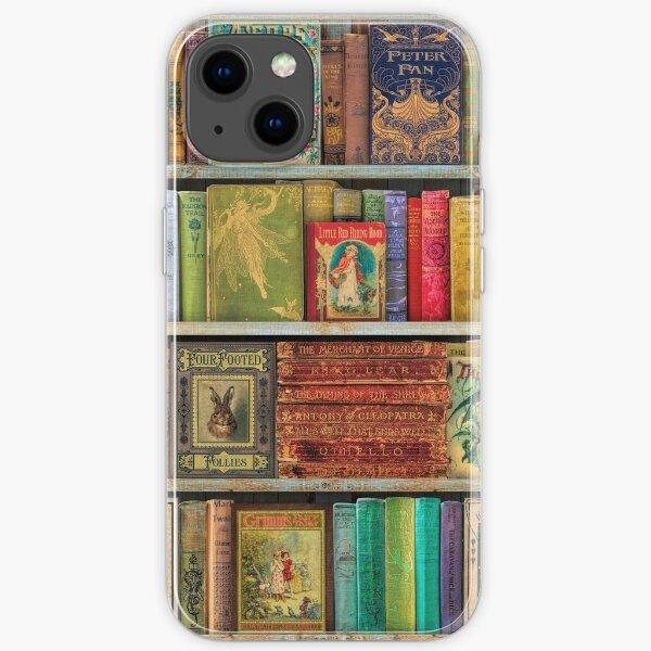 A Daydreamer's Book Shelf iPhone Soft Case