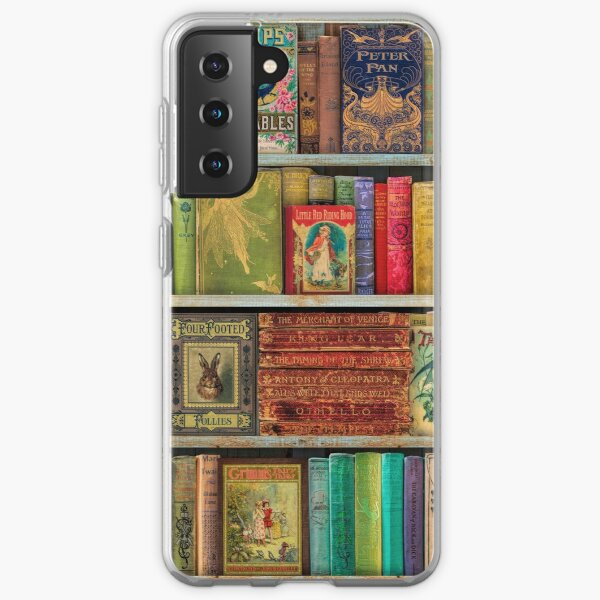 A Daydreamer's Book Shelf Samsung Galaxy Soft Case