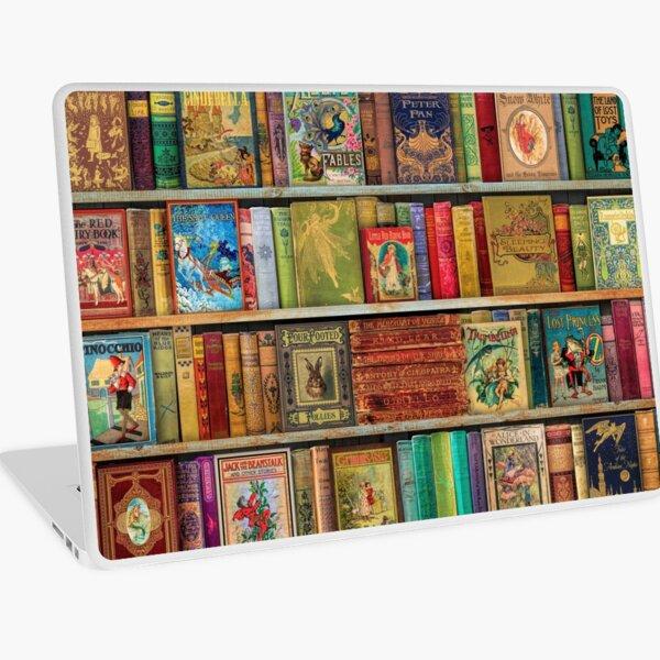 El estante del libro de un soñador Vinilo para portátil