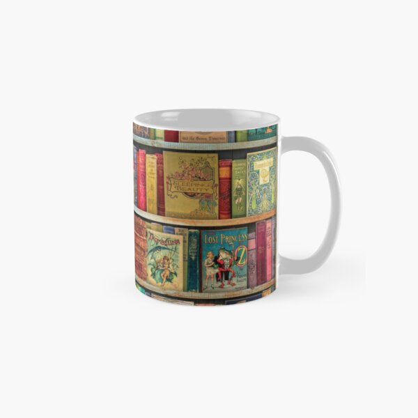 A Daydreamer's Book Shelf Classic Mug