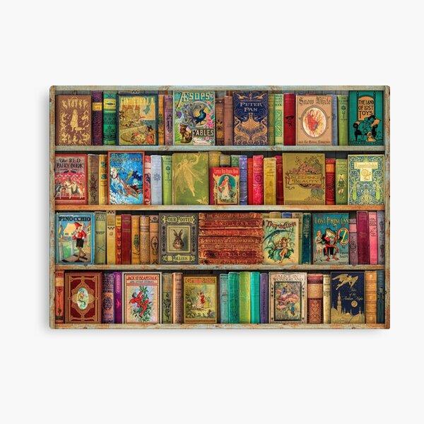 A Daydreamer's Book Shelf Canvas Print