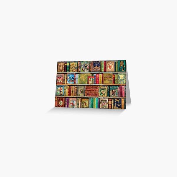 A Daydreamer's Book Shelf Greeting Card