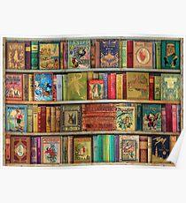 A Daydreamer's Book Shelf Poster