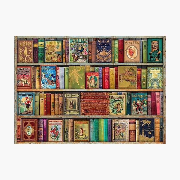 A Daydreamer's Book Shelf Photographic Print