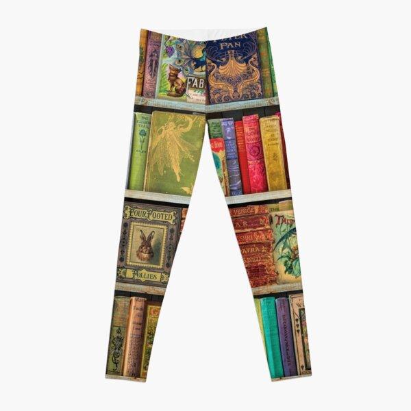 A Daydreamer's Book Shelf Leggings