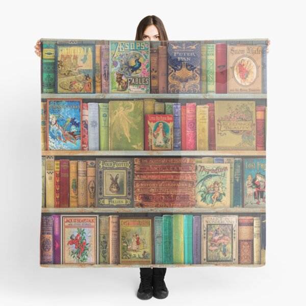 A Daydreamer's Book Shelf Scarf
