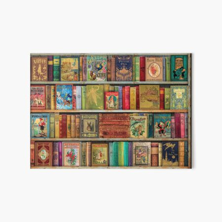A Daydreamer's Book Shelf Art Board Print