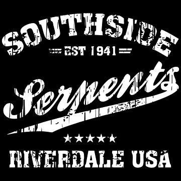 southside serpents - the hoodie bikers by resapelas