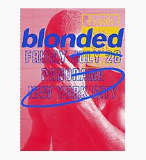 Frank Ocean - Blonded - Panorama Photographic Print