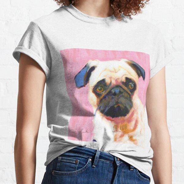 Pink Pug Classic T-Shirt