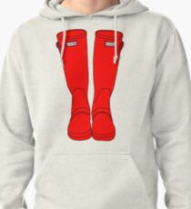Hunter Boots Pullover Hoodie