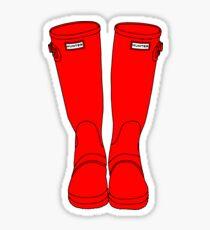 Pegatina Hunter Boots