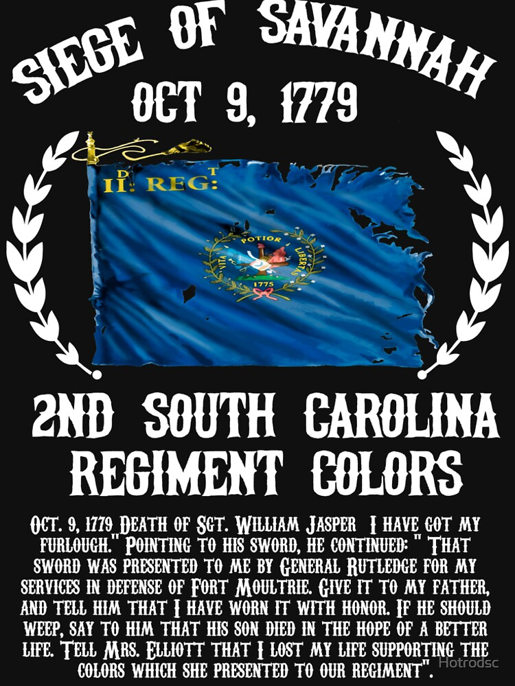 2nd South Carolina Regiment Oct 9, 1779 flag by Hotrodsc