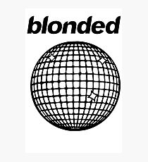 Frank Ocean - Blonded Photographic Print