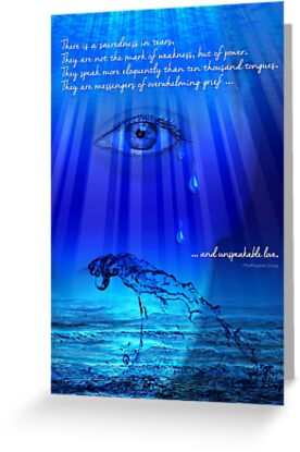 The Power of Tears by Doreen Erhardt