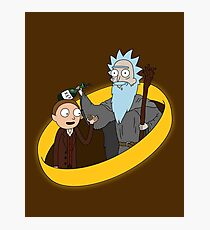 Lord of the Ricks Photographic Print