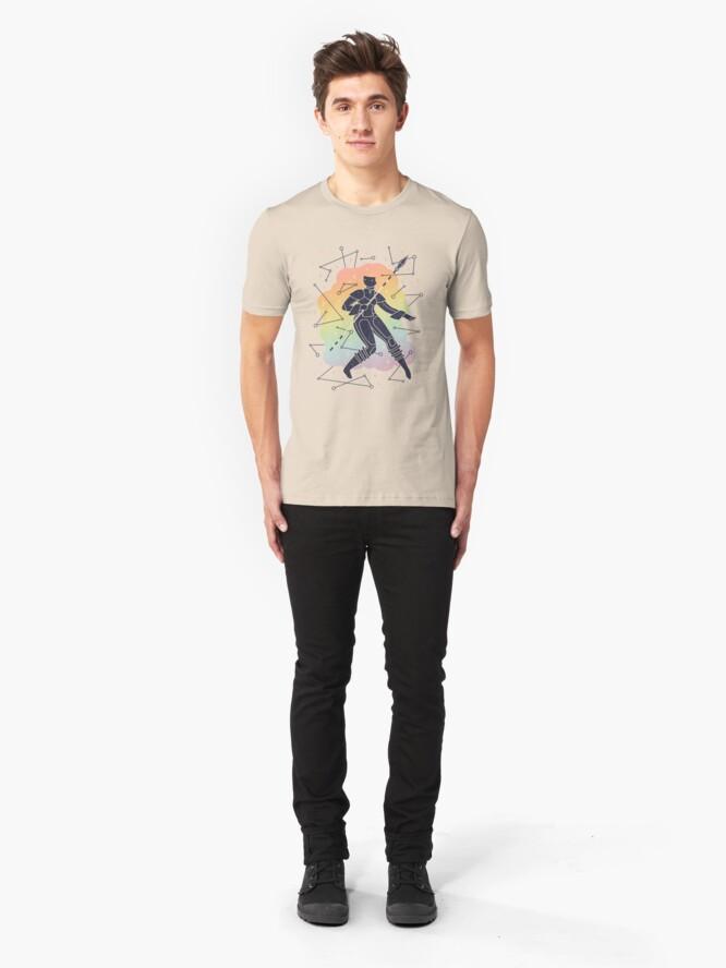 Alternate view of Rainbow Warrior Slim Fit T-Shirt
