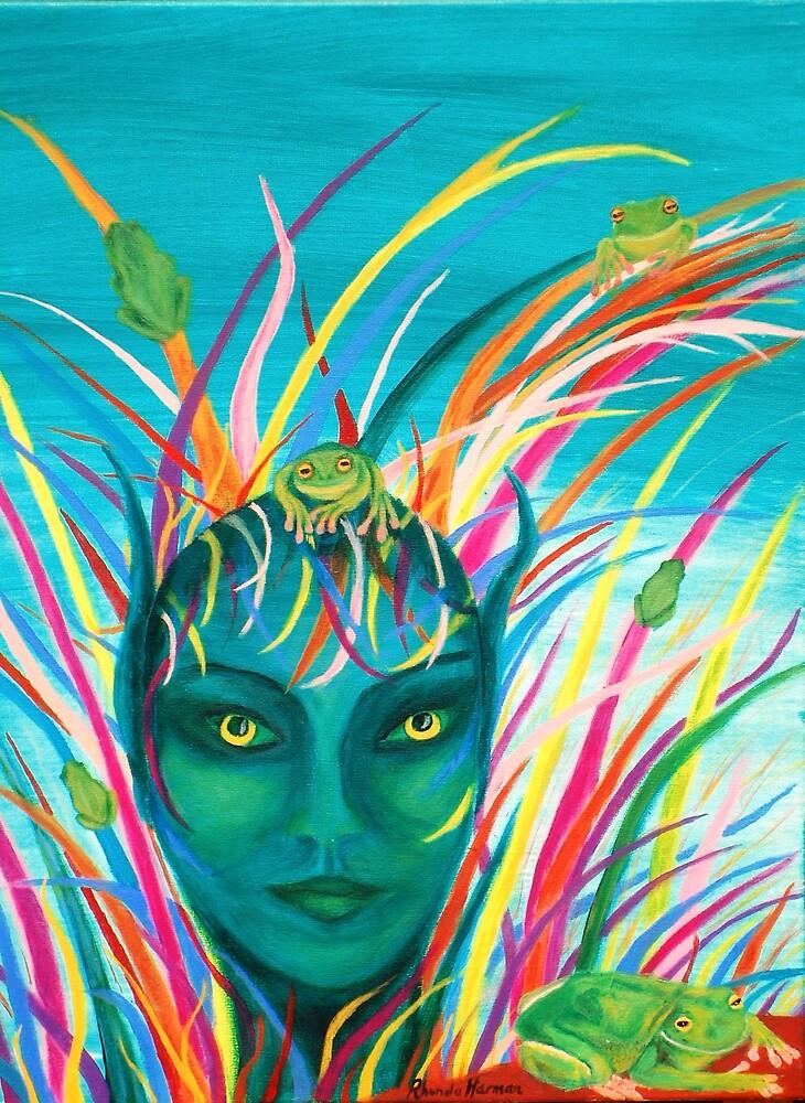 Frog Goddess by Rhonda Harman