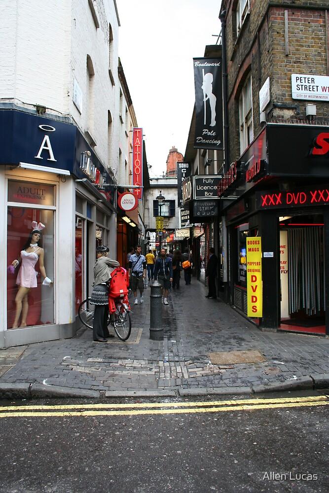 Peter Street, Westminster by Allen Lucas