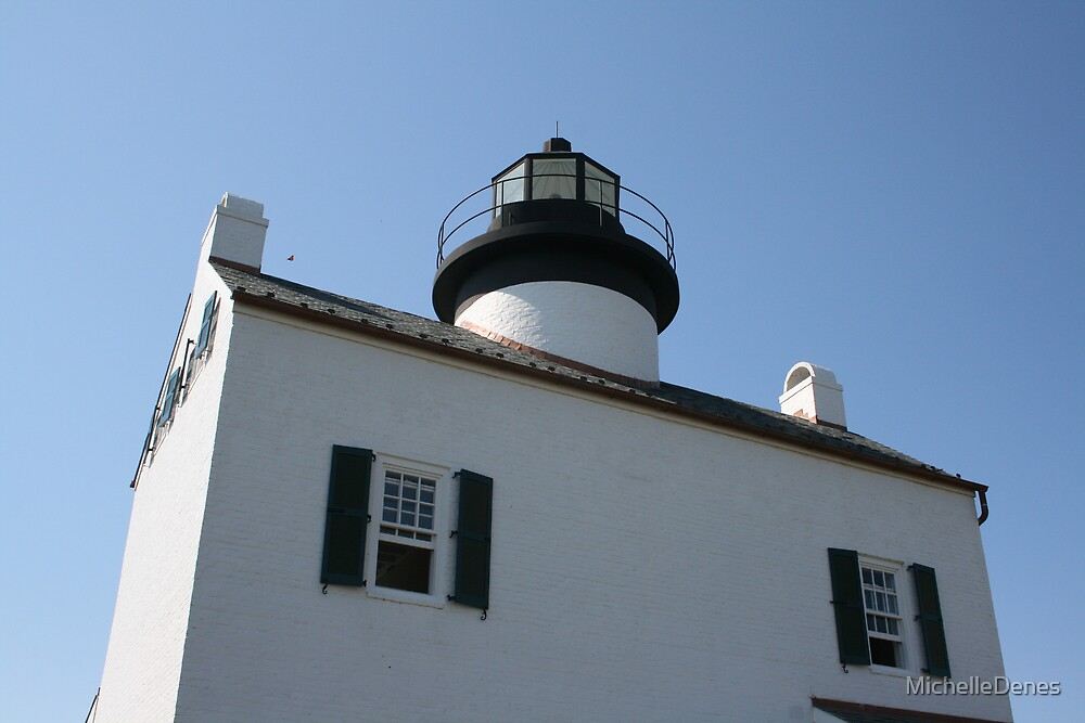 Lighthouse with butterfly. by MichelleDenes