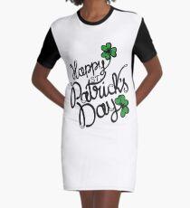 shamrock green Graphic T-Shirt Dress