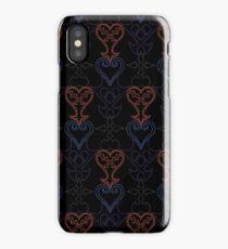 kingdom hearts symbol pattern iPhone Case/Skin