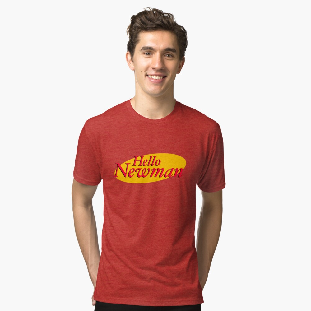 HELLO YOU Tri-blend T-Shirt Front