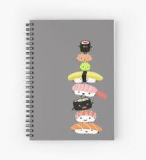 Sushi Stack Spiral Notebook