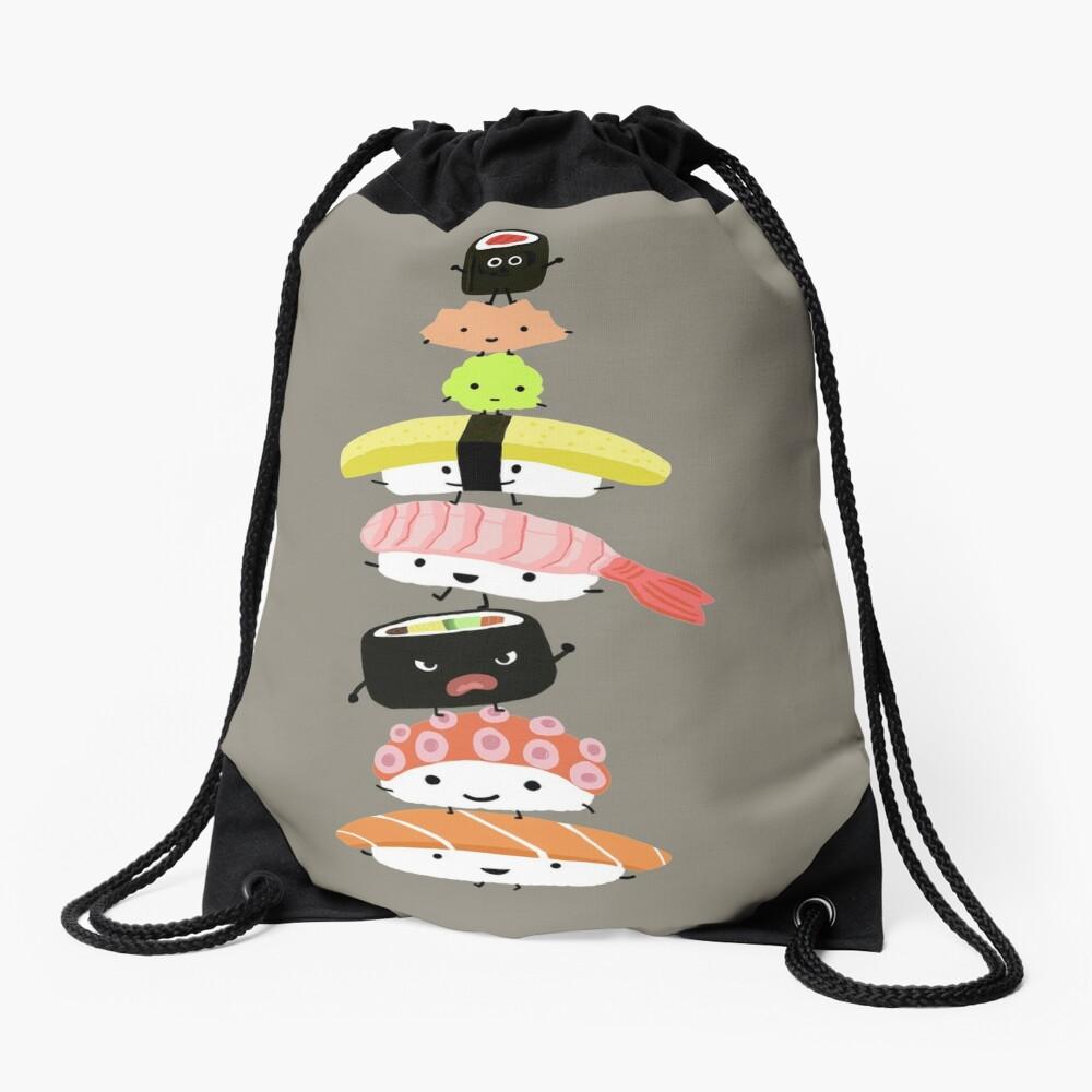 Sushi Stack Drawstring Bag