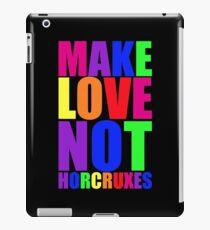 Make Love Not Horcruxes iPad Case/Skin