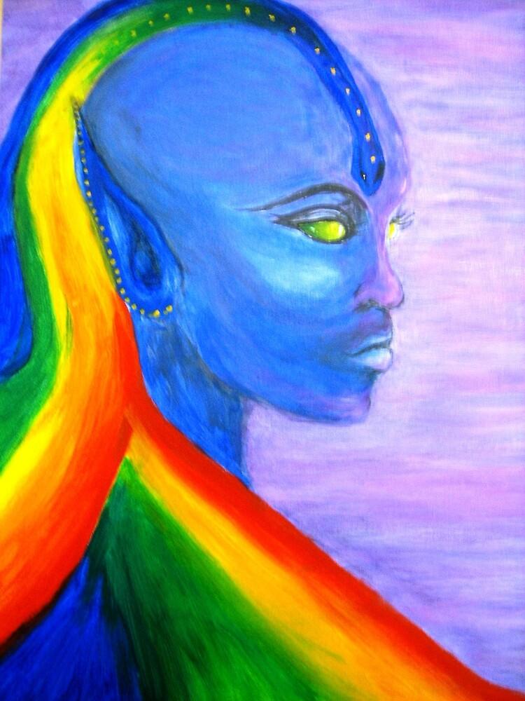 COSMIC GODDESS by Rhonda Harman
