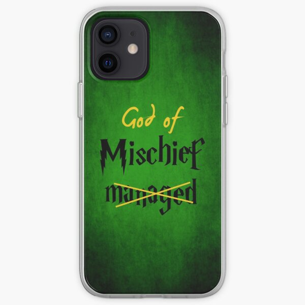 God of Mischief iPhone Soft Case