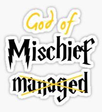God of Mischief Sticker