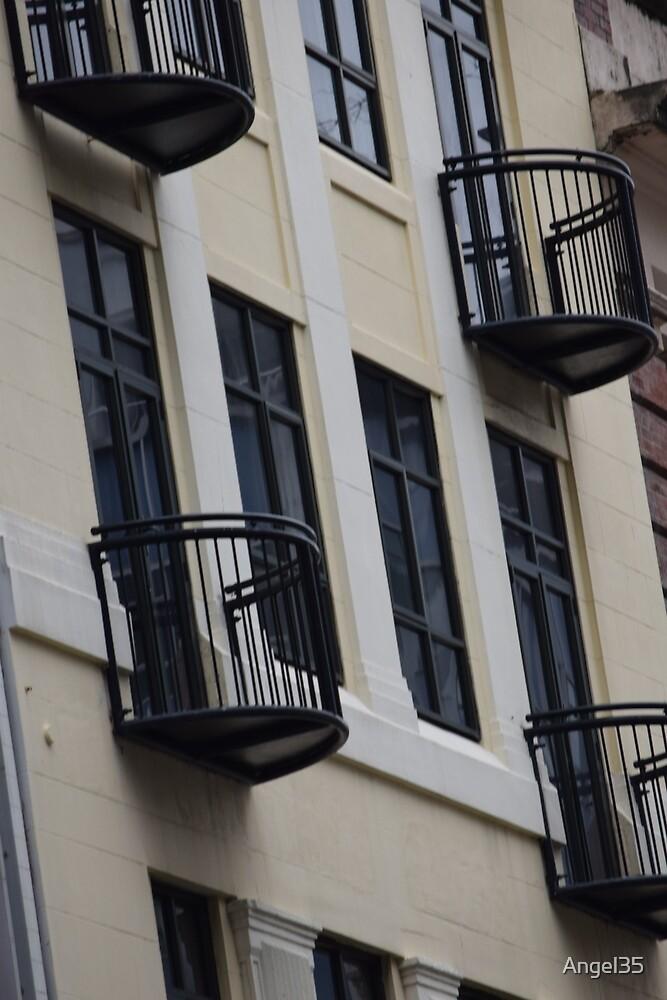 Windows and balconey by Angel35