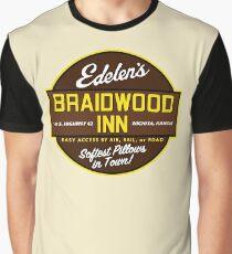 """""""Braidwood Inn - Wichita KS"""" - Motel on """"Planes, Trains & Automobiles"""" Graphic T-Shirt"""