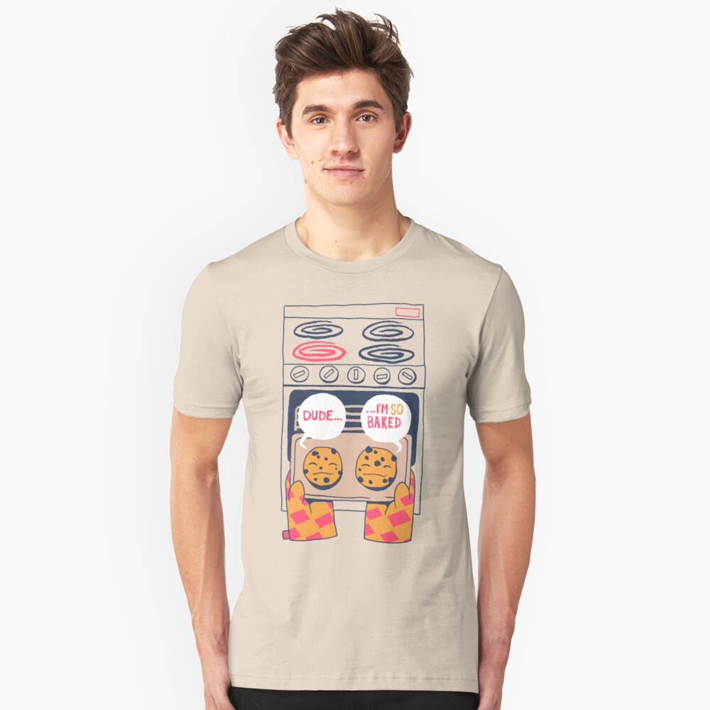 Baked Cookies Unisex T-Shirt Front