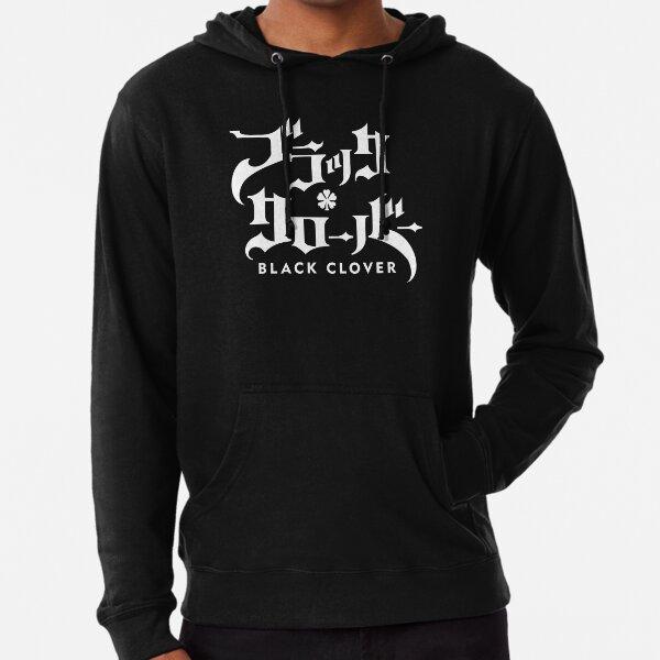 Schwarzklee-Logo Leichter Hoodie
