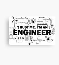 Engineer Humor Canvas Print