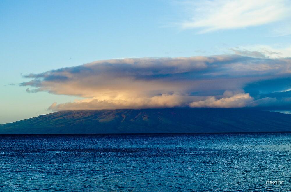 Clouds, Kona Island, Hawaii by nezihc
