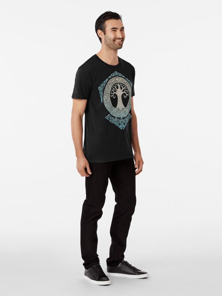 Alternative Ansicht von YGGDRASIL.TREE DES LEBENS. Premium T-Shirt