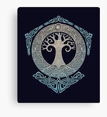 YGGDRASIL.TREE OF LIFE. Canvas Print