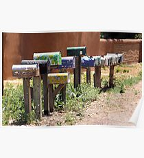 Mailboxes Poster