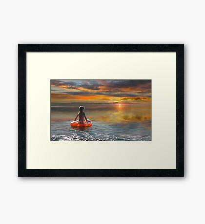 Journey of Life Framed Print